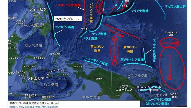 2019 南太平洋図