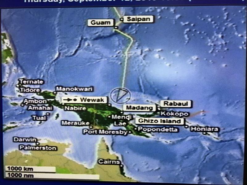 2019 パプアニューギニアへ向かう2