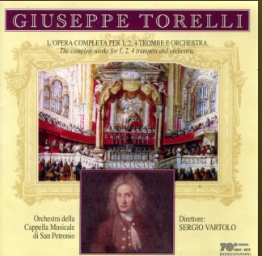 Torelli The Complete Works for 1, 2, 4 Trumpets Orchestra