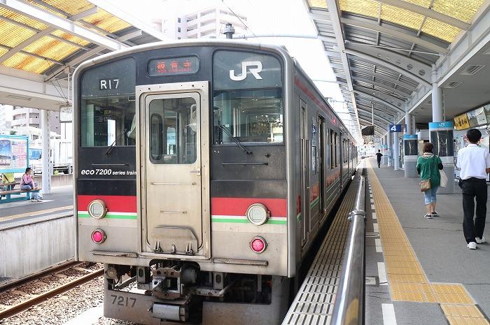 高松からの帰りはこの電車でした 1 9 7
