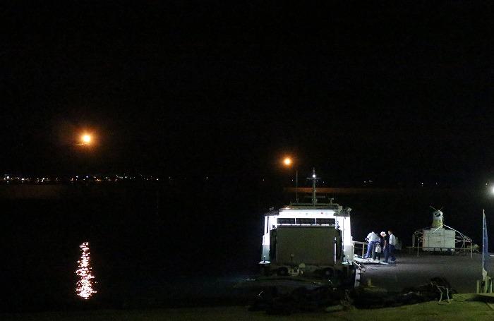 粟島からの定期船 1 9 30