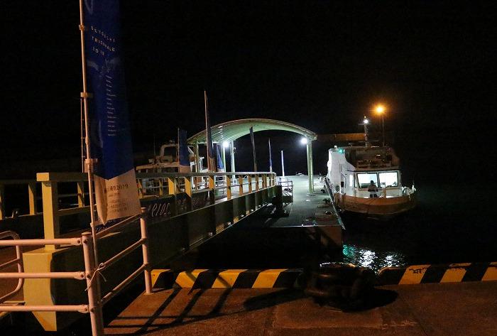 須田港に着きました 19時45分 1 9 30