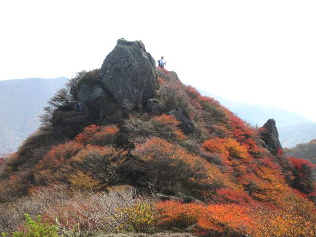 IMG0074JPG岩峰の紅葉2