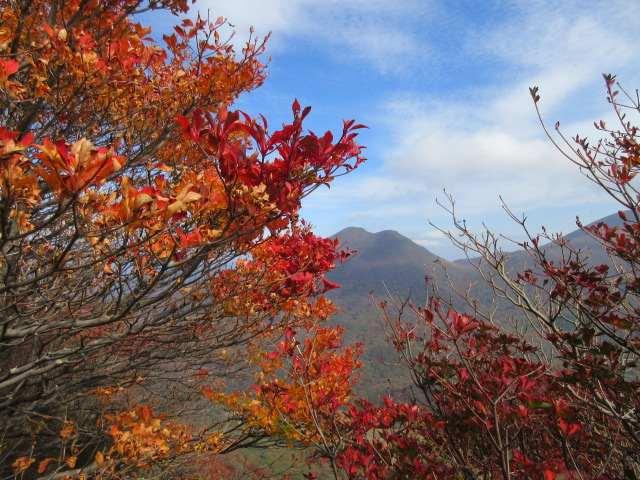 IMG0115JPG紅葉と平治岳