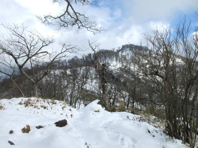 IMG0034JPG振り返る北岳