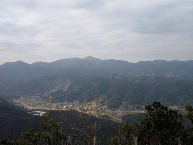 IMG0016JPG福智山を望む