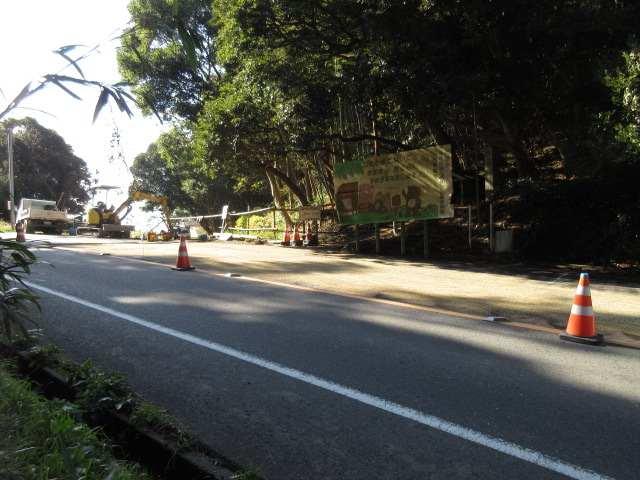 IMG0059JPG垂見峠に下りてきた 国道495舗装工事