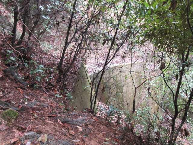 IMG0005JPG二つ目の堰堤を左折