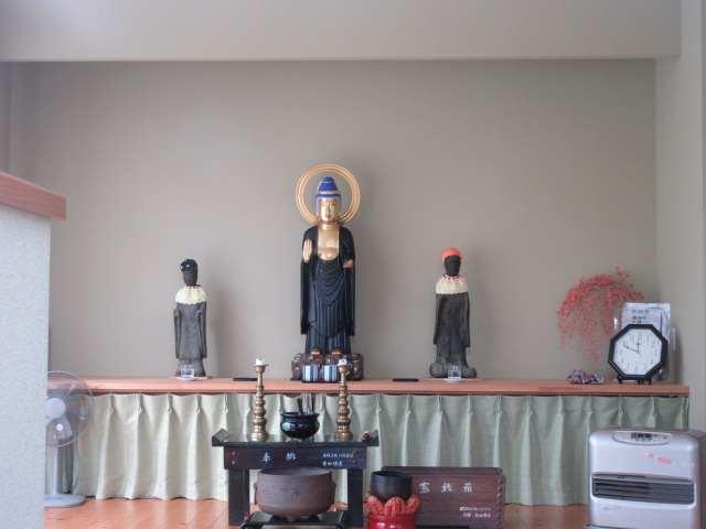 IMG0008JPG集会所室内の祭壇