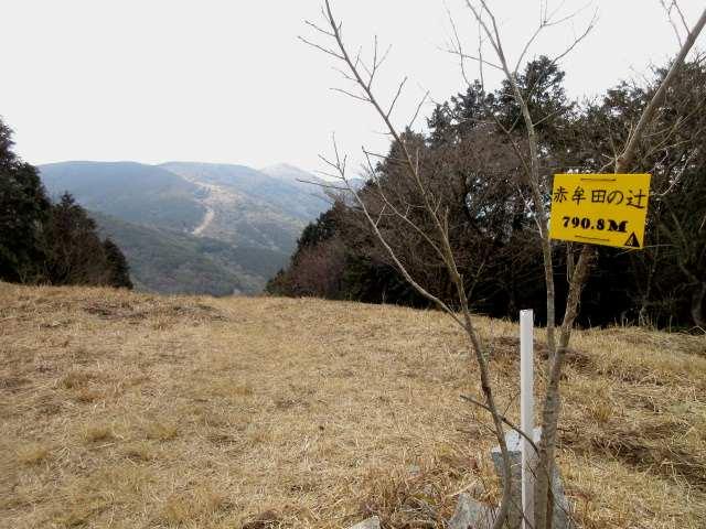 IMG0040JPG赤牟田の辻から福智山遠望