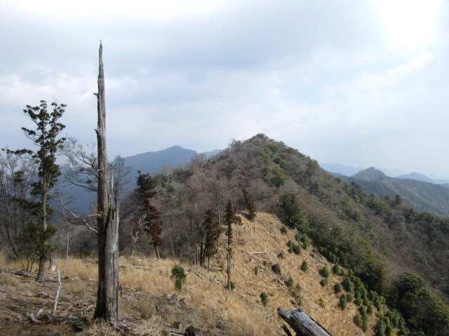 IMG0029JPG眼前の岳滅鬼岳