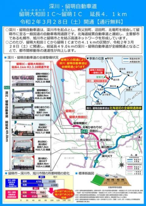 留萌深川自動車道1(2)