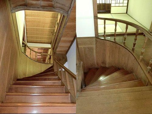 雨宮邸新座敷・階段1