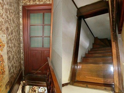 旧小諸銀行・階段
