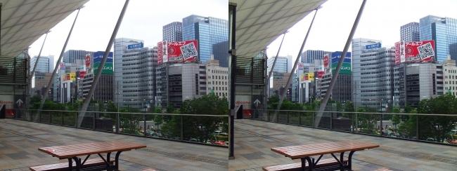 東京駅八重洲口グランルーフ①(平行法)