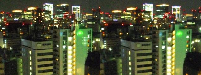 ホテル京阪築地銀座グランデ 最上階スーペリアフロア夜景眺望③(平行法)