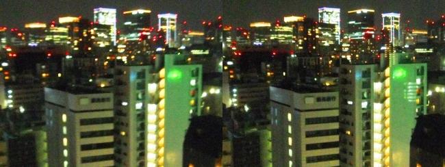 ホテル京阪築地銀座グランデ 最上階スーペリアフロア夜景眺望③(交差法)
