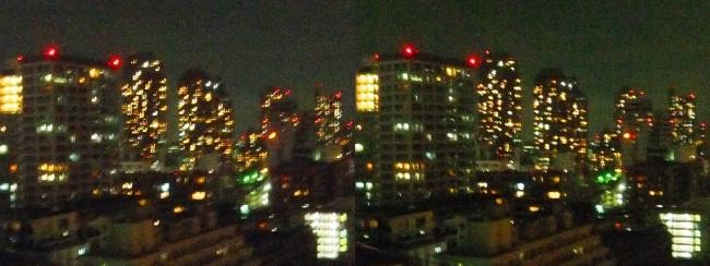 ホテル京阪築地銀座グランデ 最上階スーペリアフロア夜景眺望②(交差法)