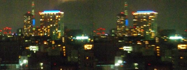 ホテル京阪築地銀座グランデ 最上階スーペリアフロア夜景眺望①(交差法)