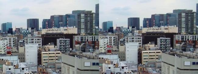 ホテル京阪築地銀座グランデ 最上階スーペリアフロア眺望⑥(平行法)