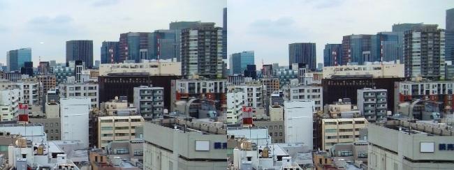 ホテル京阪築地銀座グランデ 最上階スーペリアフロア眺望⑥(交差法)