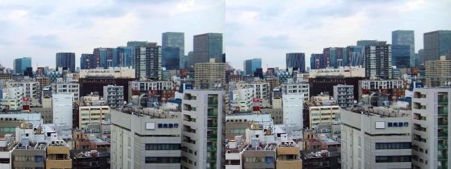 ホテル京阪築地銀座グランデ 最上階スーペリアフロア眺望⑤(平行法)