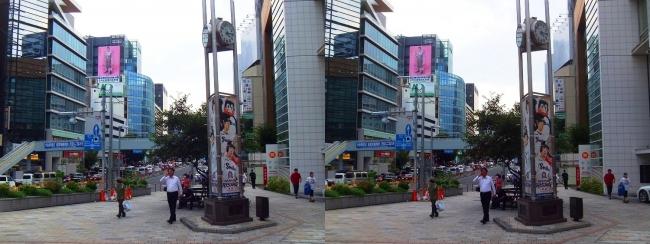 外苑駅前 青山通り(交差法)