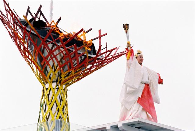 長野オリンピック聖火台