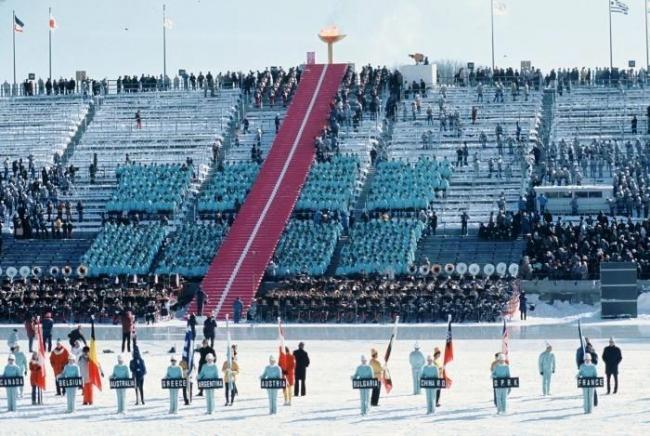 札幌オリンピック開会式
