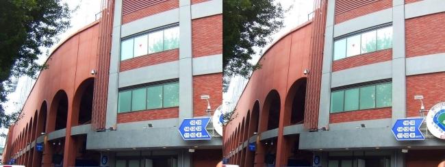 神宮球場外観⑤(交差法)