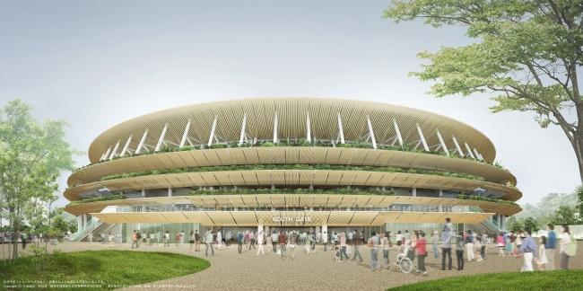 新国立競技場正面イメージ