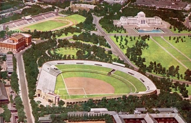 神宮球場歴史 1932年 神宮外苑