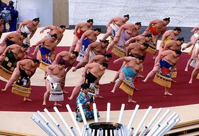 長野オリンピック開会式 大相撲