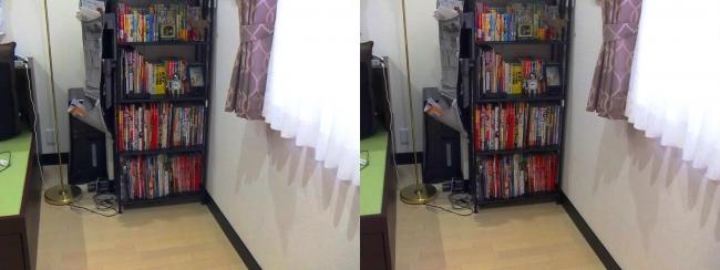 ベッド設置スペース②(交差法)