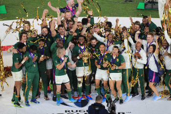 南アフリカ優勝