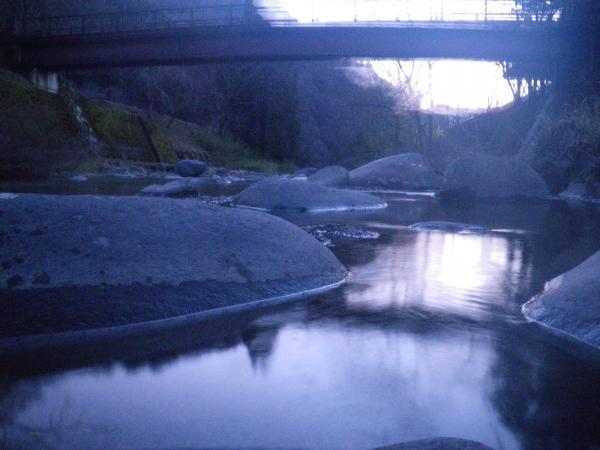 21日の栗巣川2