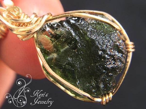 モルダバイト×シホテアリン隕石