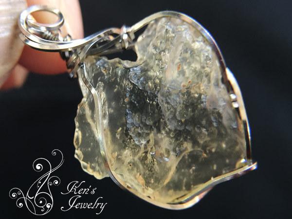 リビアングラス×シホテアリン隕石