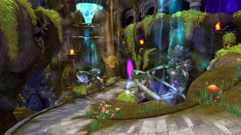 基本プレイ無料のクロスジョブファンタジーMMORPG星界神話、星霊に変身して攻略する特殊ダンジョン「クイナの混沌世界」を実装したよ