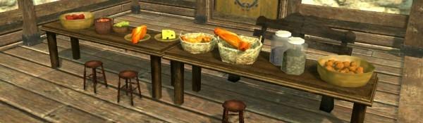 基本プレイ無料の自由系オンラインRPG、アーキエイジ、バゲットや野菜スープなど食卓を彩る家具が25種追加したよ