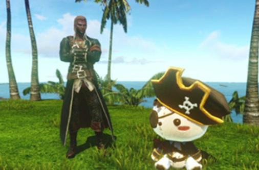 """基本プレイ無料の自由系オンラインRPG、アーキエイジ、レアなヌイグルミが手に入るイベント「""""海賊モルペウス""""の!?雛祭り裁縫教室」を開催したよ"""