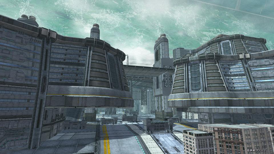 基本プレイ無料の100人同時対戦オンラインゲーム、機動戦士ガンダムオンライン、大規模戦新フィールド「フロンティアⅠ」を追加したよ