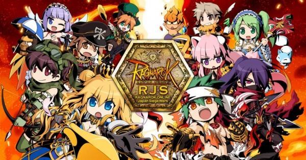 体験無料の王道ファンタジーRPG、ラグナロクオンライン、最強ギルド決定戦「RJS」WebMoney杯を開催したよ