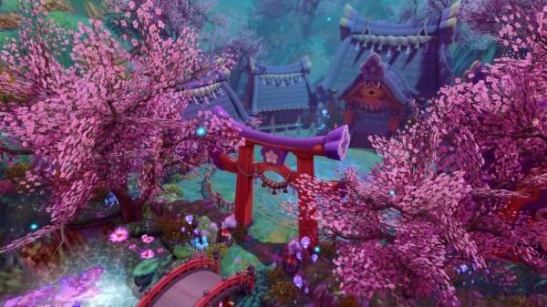 基本プレイ無料のクロスジョブファンタジーRPG、星界神話、東方大陸で宿命の対決が待ち受ける…!3月17日に新マップ「シンジュ荘園」などを追加するよ