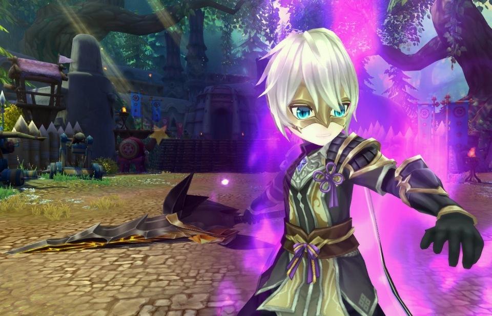 基本プレイ無料のクロスジョブファンタジーMMORPG星界神話、高難度の新ダンジョン「異界・テンキョウ神古道」を追加したよ