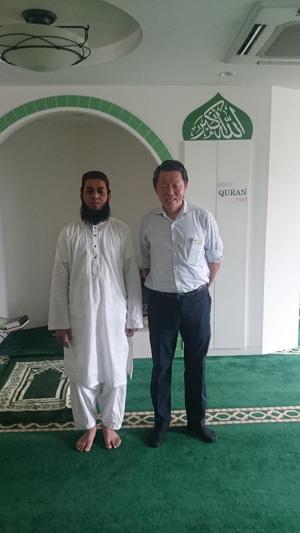 熊本イスラミックセンター_モスクの様子