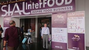SIAL Inter Food Jakarta 2019_会場エントランスにて