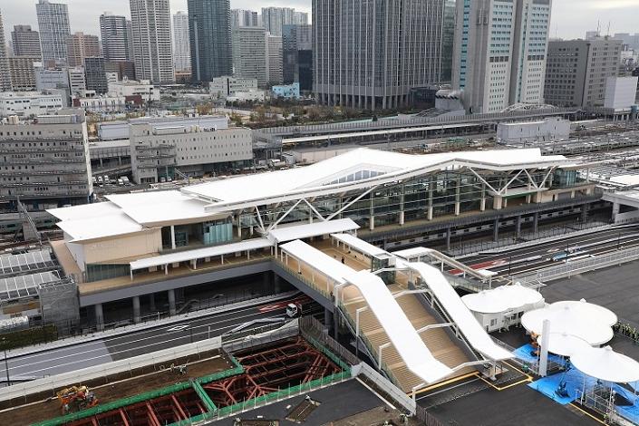 高輪ゲートウェイ駅 NEWSポストセブン-1