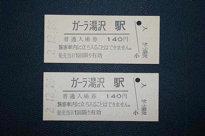 ガーラ湯沢 入場券