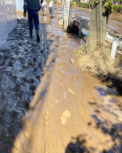 台風 下水 汚水 武蔵小杉 カレー